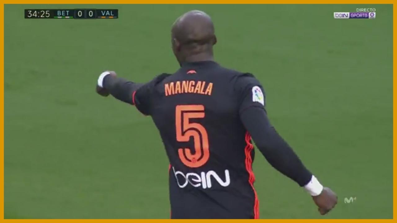 Eliaquim Mangala VS Betis