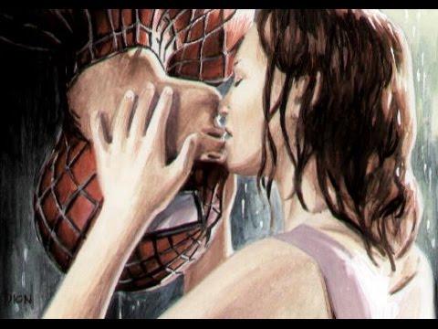 Spider-Man Kiss SUPERHERO LOVER