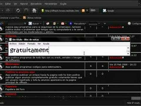 HAcking 2008 http://informaticareload.blogspot.com/