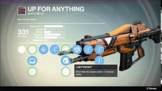 Destiny - Movement Speed and Agility