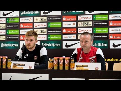 10. Spieltag   SGD - FSV   Pressekonferenz vor dem Spiel