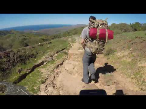Transcatalina Trail Hyperlapse