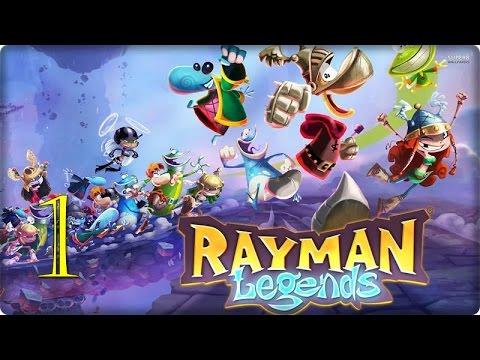Rayman Legends   guia en español   parte 1   Érase una vez