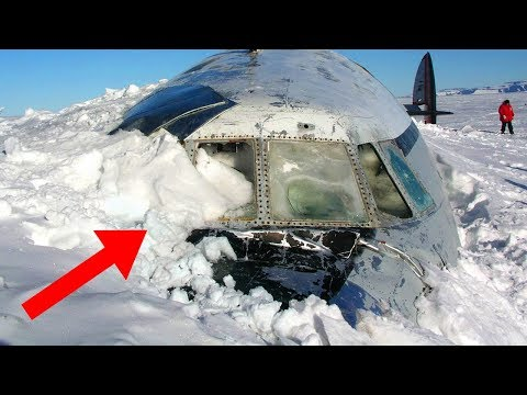 Most MYSTERIOUS Discoveries Found Frozen In Antarctica!