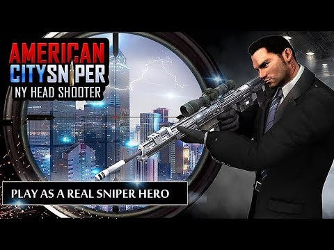 American City Sniper - NY Head Shooter - Android Gameplay