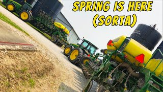 Spring Preparations on our Farm