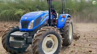 New Holland Tractor 9010 | 4WD 90 HP Tractor | Super Power Tractor