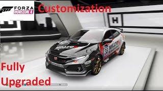 Forza Horizon 4-Honda Civic TYPE-R (FK8) Customization