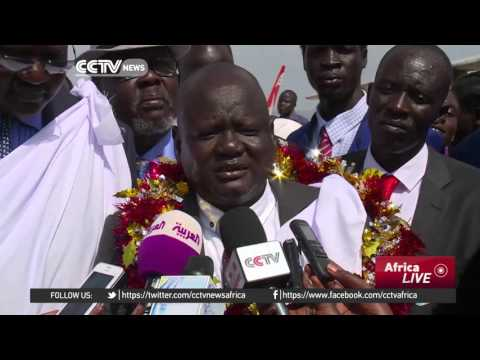 South Sudan's splinter rebel group meets government officials in Juba