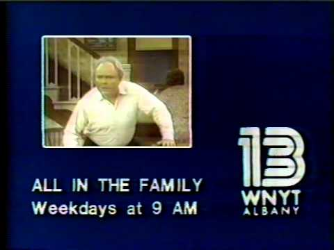 All in the Family WNYT promo 1982