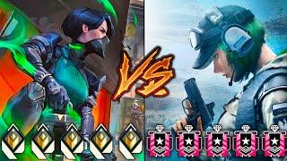 Valorant RADIANTS VS Rainbow Six Siege CHAMPIONS!