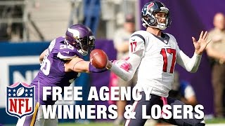 Winners & Losers in Free Agency | NFL Network | Around the NFL
