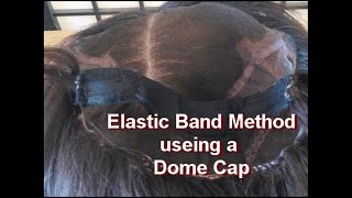 Elastic Band Method for All types of  wigs