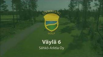 Virpiniemi Golf: Väylä 6, Sähkö-Arktia