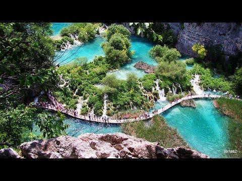 A természet csodái: PLITVICEI TAVAK ~ Plitvička jezera - Croatia