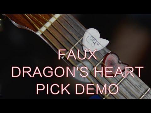 Faux Dragon's Heart Pick Demo