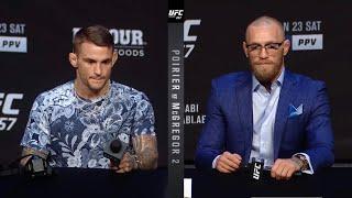 UFC 257: Порье vs МакГрегор 2 - Пресс конференция