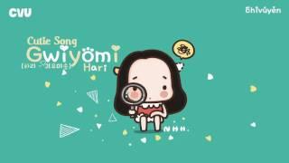 [Vietsub + Engsub + Hangul] Hari (하리) - Gwiyomi (Cutie Song/귀요미송)
