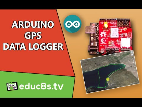 Arduino Project: GPS datalogger with GPS shield tutorial on Arduino Uno and kayak