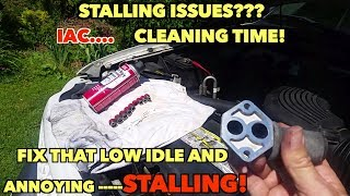 Fix Idle Issues! Clean that IAC Control Valve without any Issues.