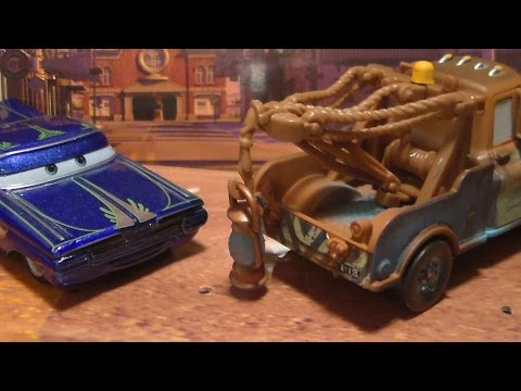 Ghostlight Ramone, Mater w/ Lamp CHASE* 2010 Mattel Disney Pixar Cars Diecast Unboxing Review!