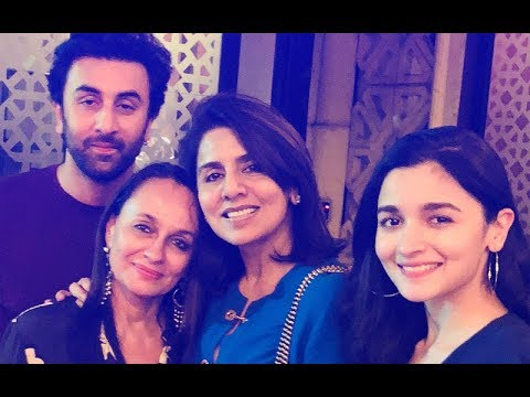 Ranbir Kapoor Brings In 36th Birthday With His Special Ladies Alia Bhatt, Neetu Kapoor & Soni Razdan Mp3