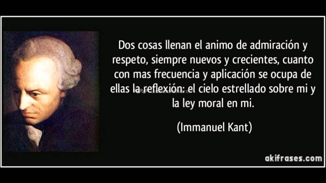 Materiales Para Pensar Elogio De Kant Dignidad Y Respeto