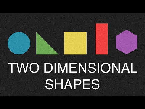"Two Dimensional Shapes Song - to the tune of ""This Old Man"""