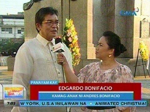 UB: Panayam kay Edgardo Bonifacio, kamag- anak ni Andres Bonifacio