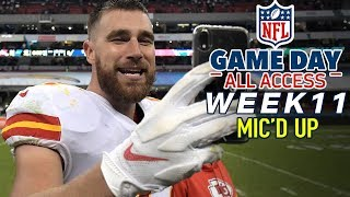 "NFL Week 11 Mic'd Up, ""I like that boy!"" 