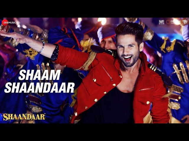 Shaam Shaandaar | Shaandaar | Shahid Kapoor & Alia Bhatt | Amit Trivedi
