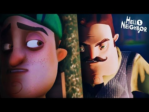 THE CHILD ESCAPED FROM THE NEIGHBOR!! || Hello Neighbor (ACT 2 ENDING + Secrets)