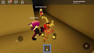Roblox going to floor 2 with creator.