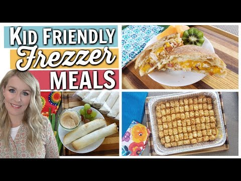 Kid Friendly & Budget Friendly EASY FREEZER MEALS
