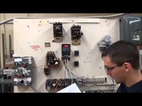 Allen Bradley PLC controlling a VFD