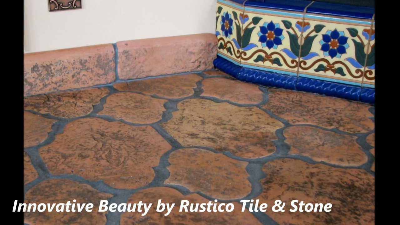 Antique Saltillo And Terra Cotta Tile Mexican Flooring Youtube