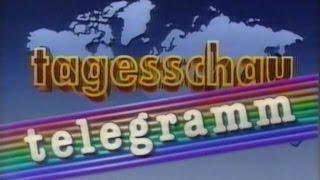 ARD - Tagesschau Telegramm Intro (1993)