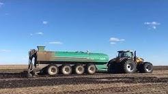 CHALLENGER 1050 Manure Application Minnesota Spring 2019
