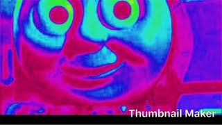 Thomas the train earrape bass boosted video