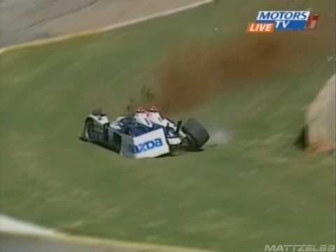 Guy Smith Crashes At Road Atlanta 2006