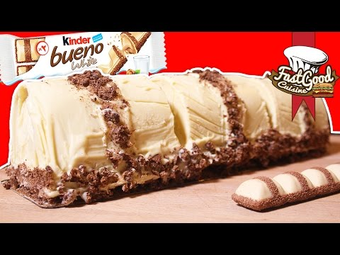Comment faire un Kinder Bueno White XXL !