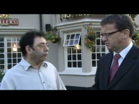Rob Meets With The Landlord Of The Fishermans Cottage