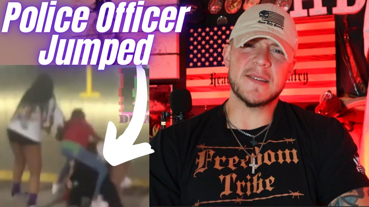 Police Officer Pummeled By Crowd He Was Called to Help