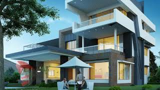 Modern Glass Houses Ideas | Simple Glass Home Design Decorating Plans Tour Small Spaces 2018