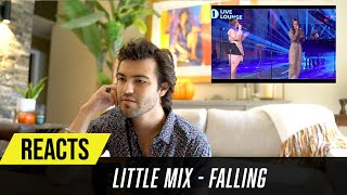 Producer Reacts to Little Mix - Falling (Harry Styles Cover)