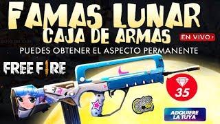 🔴 REGRESA LA FAMAS LUNAR 💥 FREE FIRE 💥 TeamRex YA EN EL TORNEO MUNDIAL!!