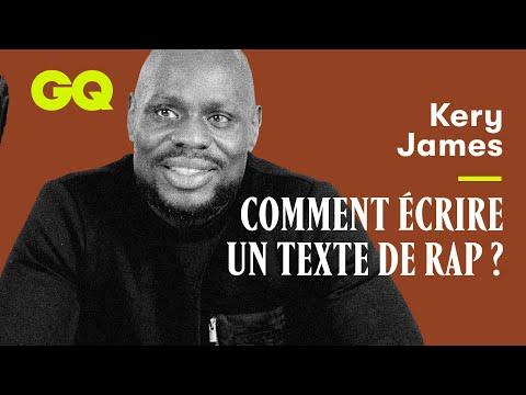 Comment écrire un texte de rap selon Kery James
