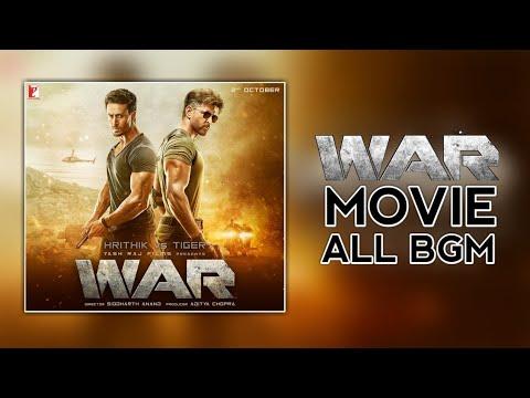 War Movie All BGM (Background Music) | Khalid's BGM | Kabir's BGM | Theme Music