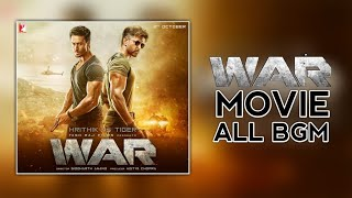 War Movie All BGM (Background Music) | Khalid's BGM | Kabir's BGM | Theme Music