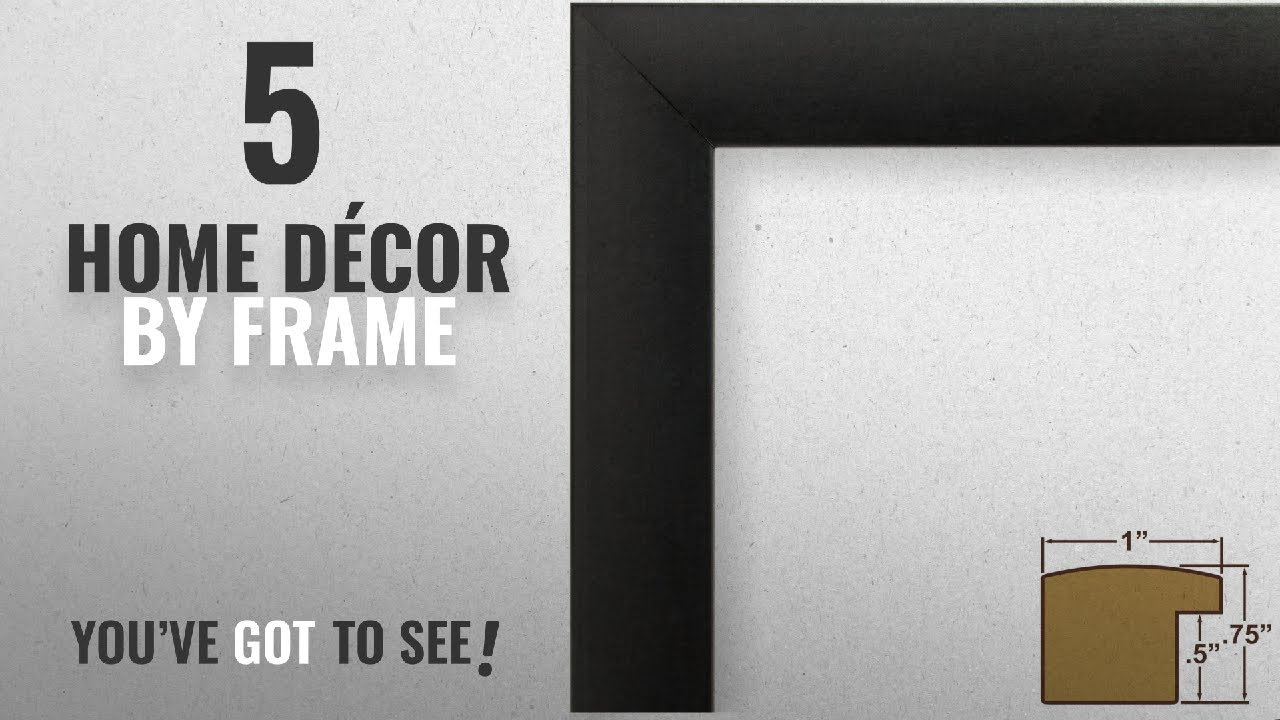 Top 10 Home Décor By Frame Winter 2018 Craig Frames 1wb3bk 18 By 24 Inch Picture Frame Smooth